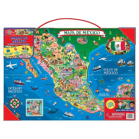 T.S. Shure Wooden Magnetic Map Of Mexico Puzzle 50pc on chiapas mexico, nayarit mexico, map of new york, map of the united states, san carlos mexico, puebla mexico, oaxaca mexico, huatulco mexico, map of germany, map of europe, map of virginia, map of ohio, map of florida, map of south america, map of canada, taxco mexico, map of us, mazatlan mexico, cities in mexico, map of africa, map of the world, map of usa, map of georgia, map of california, manzanillo mexico, guadalajara mexico, detailed map mexico, map of italy, jalisco mexico, michoacan mexico, map of china, aguascalientes mexico, queretaro mexico, sinaloa mexico, leon mexico, punta mita mexico, map of texas, tulum mexico, map of north carolina,