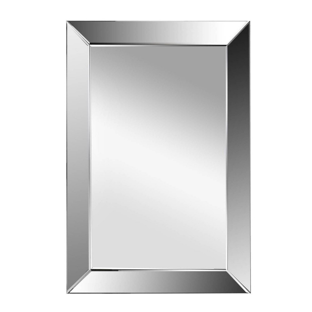Isabele Rectangle Wall Mirror Silver - Abbyson Living