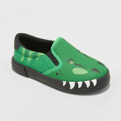 Toddler Boys' Bo Canvas Sneakers - Cat & Jack™ Green 10