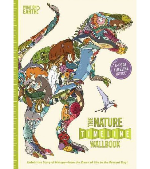 Nature Timeline Wallbook : Unfold the Story of Nature - from the Dawn of Life to the Present Day! - image 1 of 1