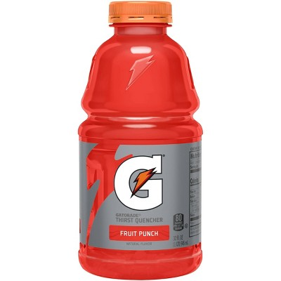 Gatorade Fruit Punch Sports Drink - 32 fl oz Bottle