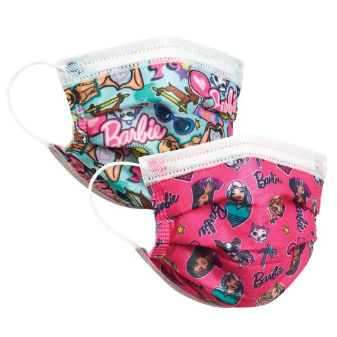 Just Play Barbie Kid's Face Mask - 14pc - image 1 of 4