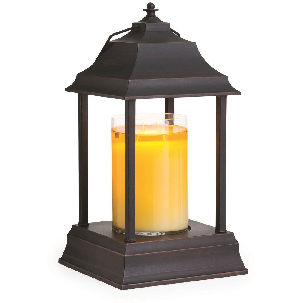 Decorative Candle Warmer Lantern Bronze - Candle Warmers Etc.