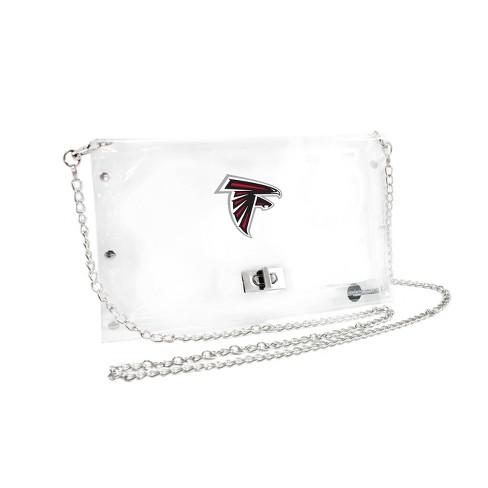 NFL Atlanta Falcons Clear Envelope Purse - image 1 of 1