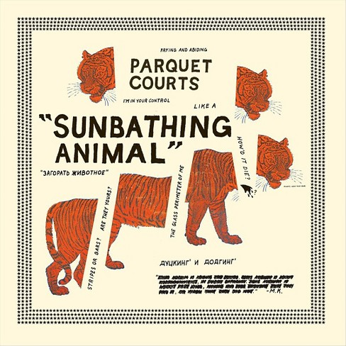 Parquet courts - Sunbathing animal & content nausea (CD) - image 1 of 2