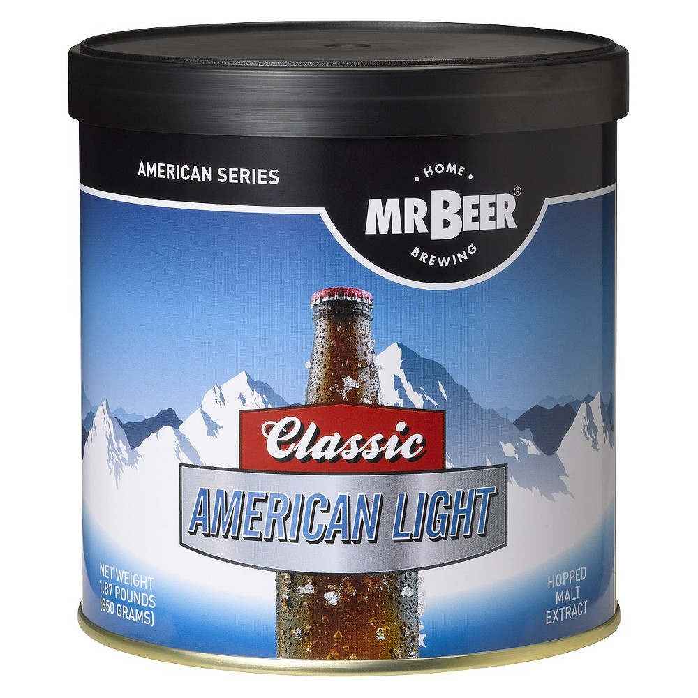 Image of Mr. Beer American Light Beer refill