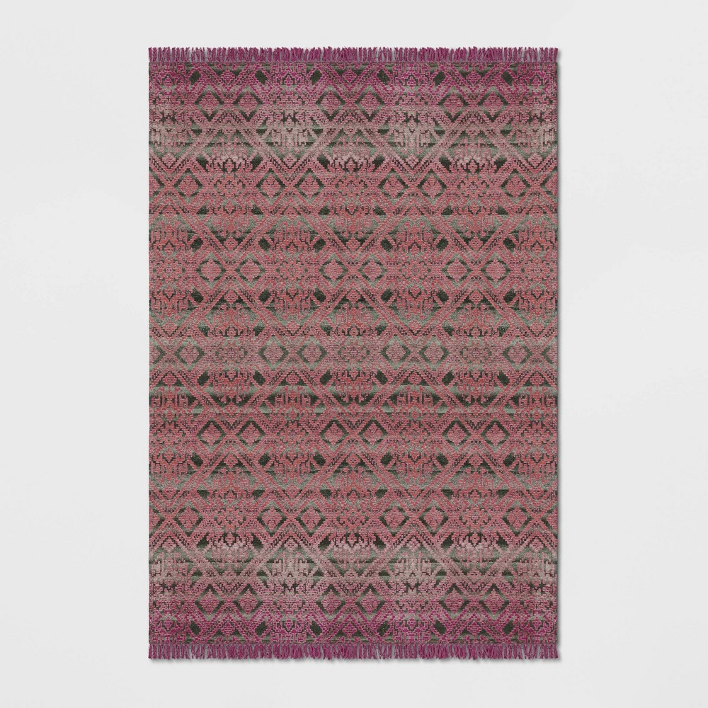 7'X10' Rosita Woven Tapestry Rug Pink - Opalhouse was $299.99 now $149.99 (50.0% off)
