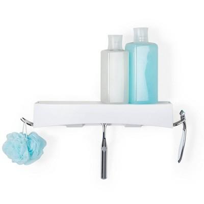 Clever Flip Shower Basket or Shelf White - Better Living Products