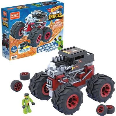 Mega Construx Hot Wheels Bone Shaker Monster Truck Vehicle
