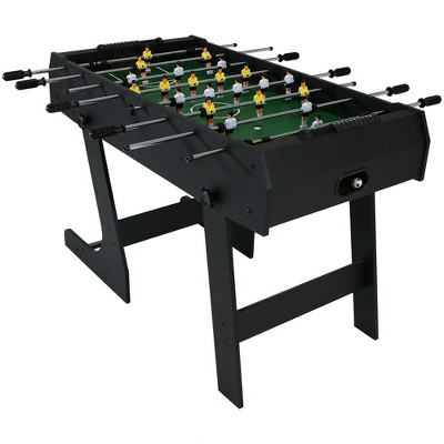 "Sunnydaze Decor 48"" Folding Foosball Game Table"