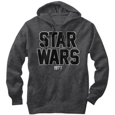 Men's Star Wars Bold Logo 1977 Pull Over Hoodie