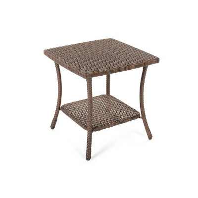 Leisure Collection Patio End Table - W Unlimited