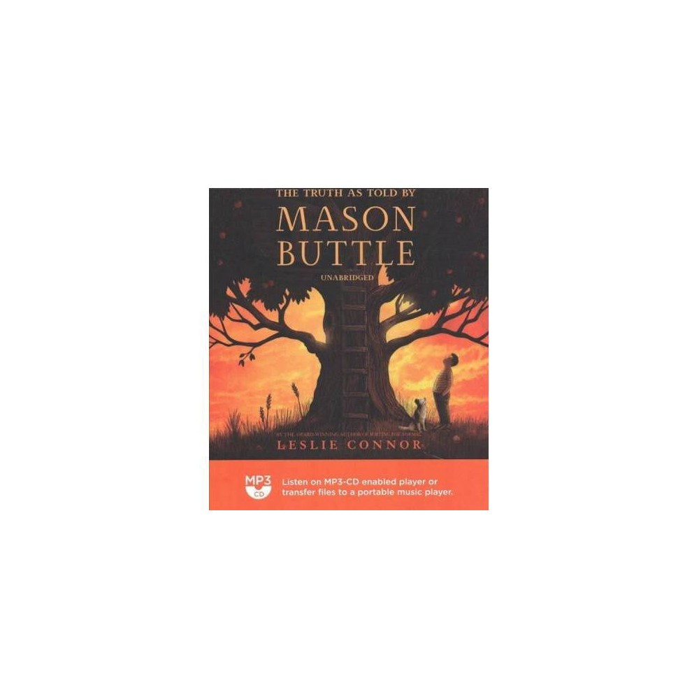 Truth As Told by Mason Buttle - MP3 Una by Leslie Connor (MP3-CD)
