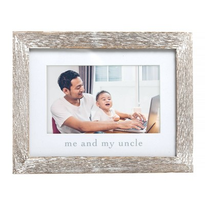 "Pearhead Me & My Uncle Picture 4"" x 6"" Frame"