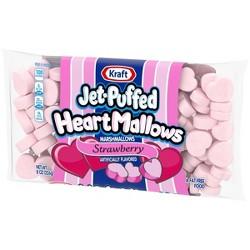 Jet Puffed Strawberry Heart Mallow 8oz
