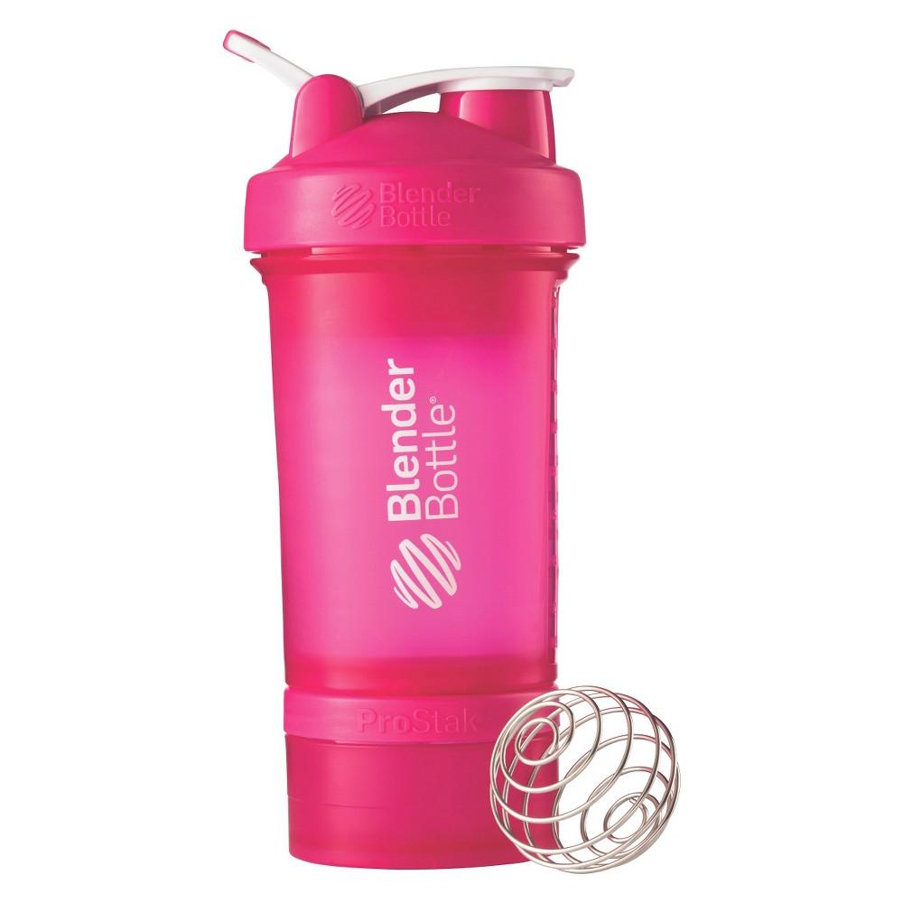 Blender Bottle 22oz ProStak - Pink