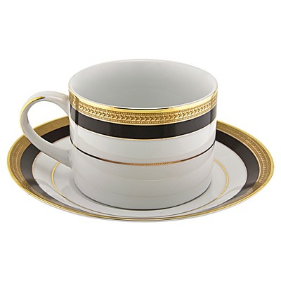 Cup/Saucer Sahara 8oz Set of 4 - 10 Strawberry Street