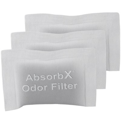 iTouchless AbsorbX Odor Filters 3-Pack