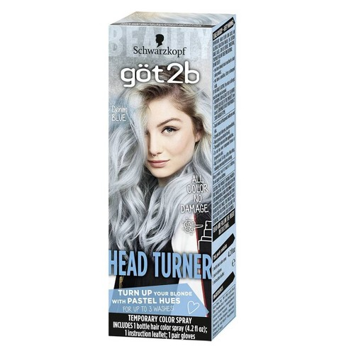 Got2b Color Headturner Temporary Hair Color Spray Peach 4 2 Fl Oz Target