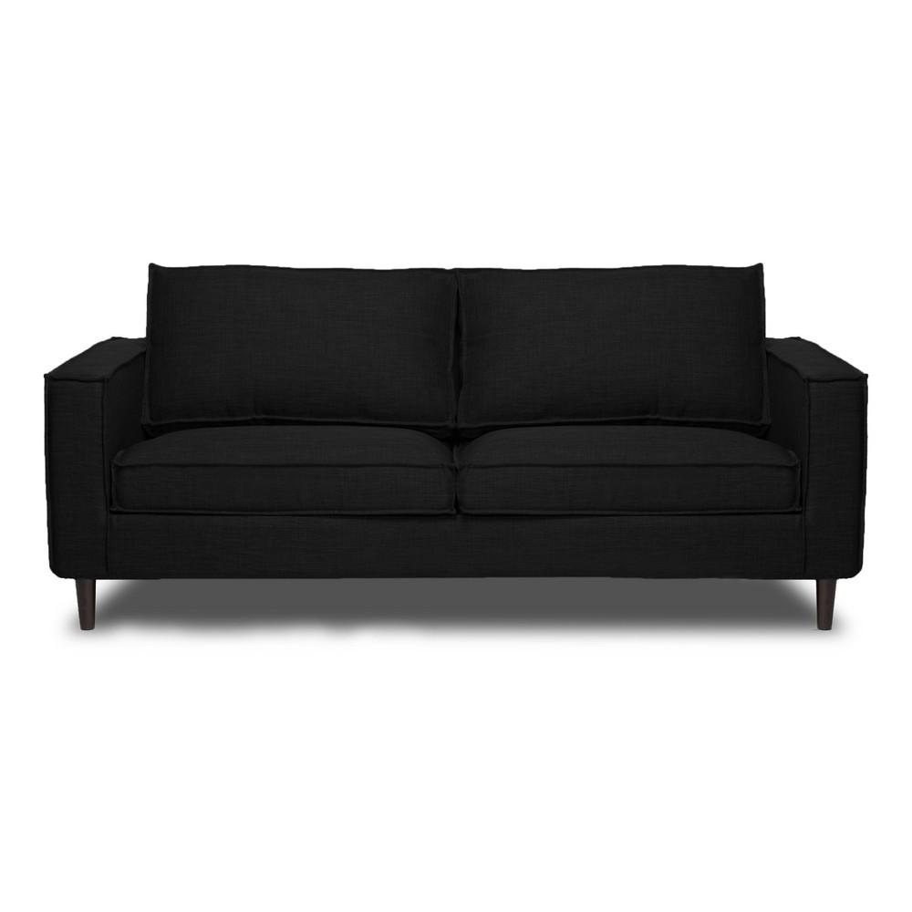 Parlour Sofa Black - Sofas 2 Go