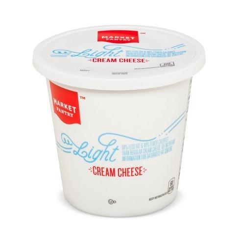 Light Plain Cream Cheese - 16oz - Market Pantry™ - image 1 of 1