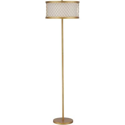 Evie Mesh Floor Lamp - Safavieh (Lamp Includes Energy Efficient Light Bulb)