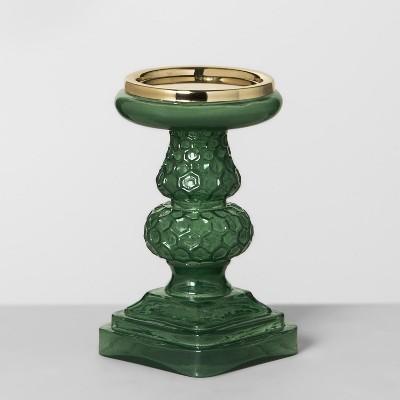 Pillar Candle Holder - Green - Opalhouse™