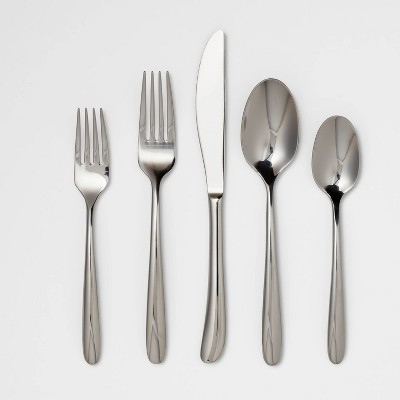 Kayden 20pc Stainless Steel Silverware Set - Threshold™