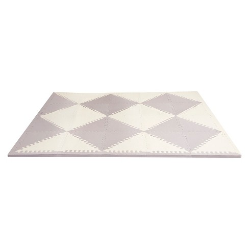 Skip Hop Playspot Geo Foam Floor Tiles, Chevron - image 1 of 4