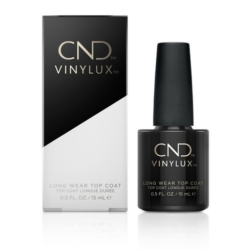 CND Vinylux Weekly Nail Polish Color Top Coat - 0.5 Fl Oz : Target