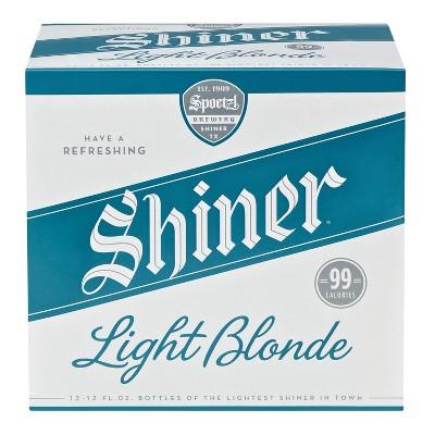 Shiner Light Blonde Beer - 12pk/12 fl oz Bottles