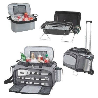 Picnic Time Vulcan - Propane Grill /Cooler/ 3pc Tools & Trolley - Model 770-85-175