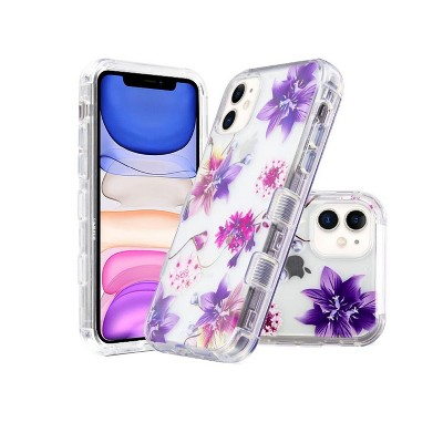 MYBAT Tuff Lucid Stargazers Hard Dual Layer Clear Plastic TPU Case For Apple iPhone 11 - Multi-Color