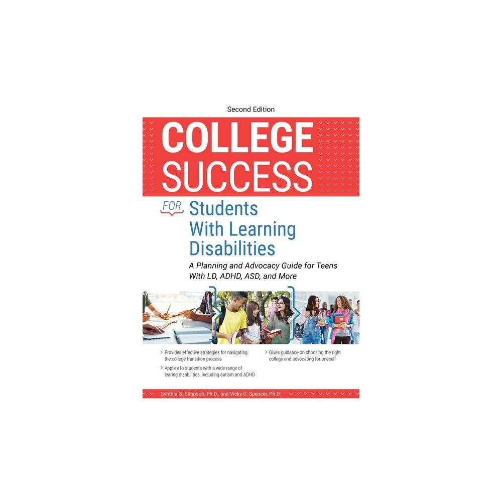 College Success For Students With Learning Disabilities 2nd Edition By Cynthia Simpson Vicky Spencer Paperback