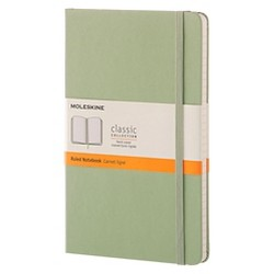 "Moleskine Composition Notebook, Hard Cover, College Ruled, 240 sheets, 5"" x 8"" - Green"