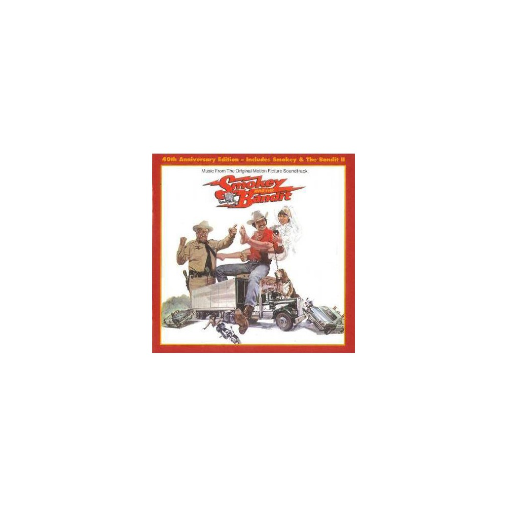 Various Artists Smokey The Bandit Soundtrack I And Ii 40th Anniversary Release Cd