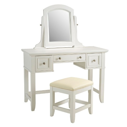 Naples Vanity And Bench Set White Homestyles Target