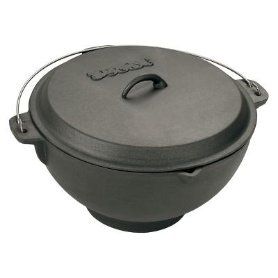 Bayou Classic Cast Iron 3 Gallon Jambalaya Pot with Lid