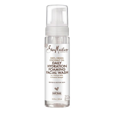 SheaMoisture 100% Virgin Coconut Oil Daily Hydration Foaming Facial Wash - 7.5oz