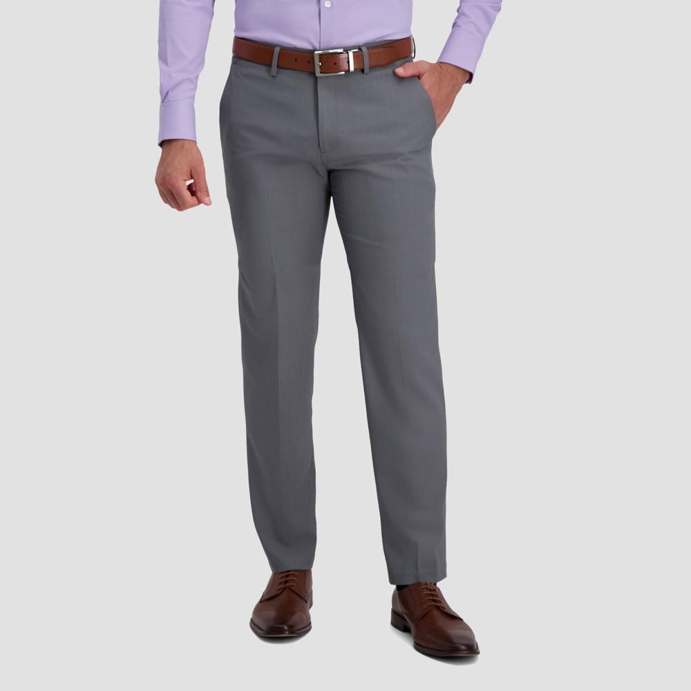 Top Haggar H26 Men's Premium Stretch Straight Fit Pants -