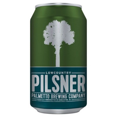 Palmetto Lowcountry Pilsner Beer - 6pk/12 fl oz Cans