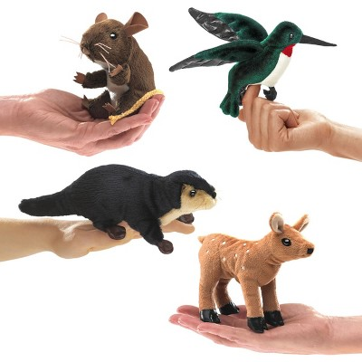 Folkmanis Mini Puppets Forest Animals - Set of 4