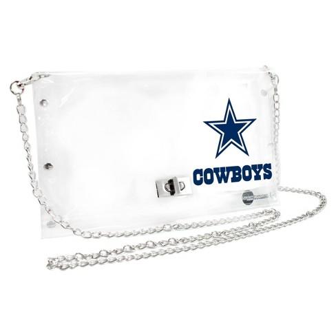 NFL Dallas Cowboys Clear Envelope Purse - image 1 of 1