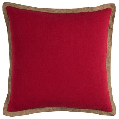 """22""""x22"""" Oversize Solid Square Throw Pillow - Rizzy Home"""