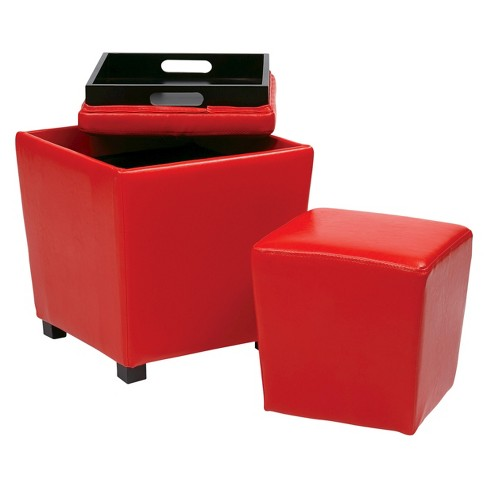 2 Piece Metro Ottoman Set - Office Star - image 1 of 1