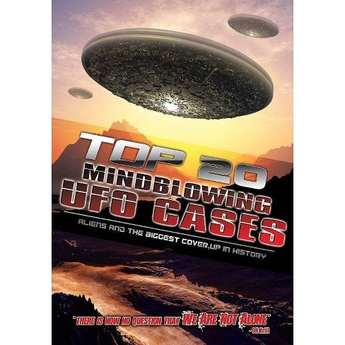 Top 20 Mind Blowing Ufo Cases: Aliens & The Biggest Cover-up In History (DVD) - image 1 of 1