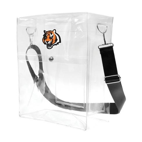 NFL Cincinnati Bengals Clear Ticket Satchel - image 1 of 4