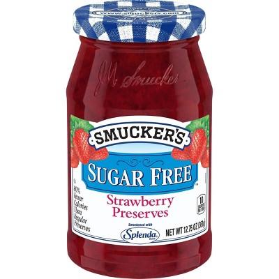 Smucker's Strawberry Sugar Free Preserves - 12.75oz