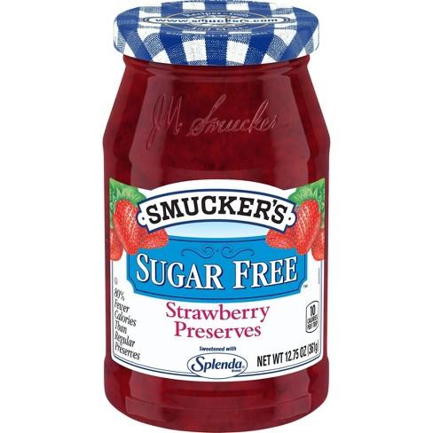 Smucker's Strawberry Sugar Free Preserves - 12.75oz - image 1 of 4