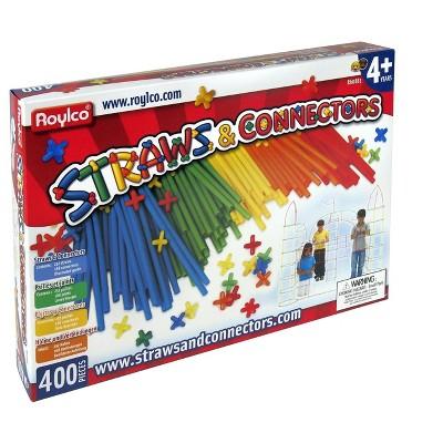 Roylco Straws and Connectors Kit, set of 400